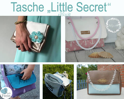 "eBook  Tasche ""Little Secret"" bei Makerist"