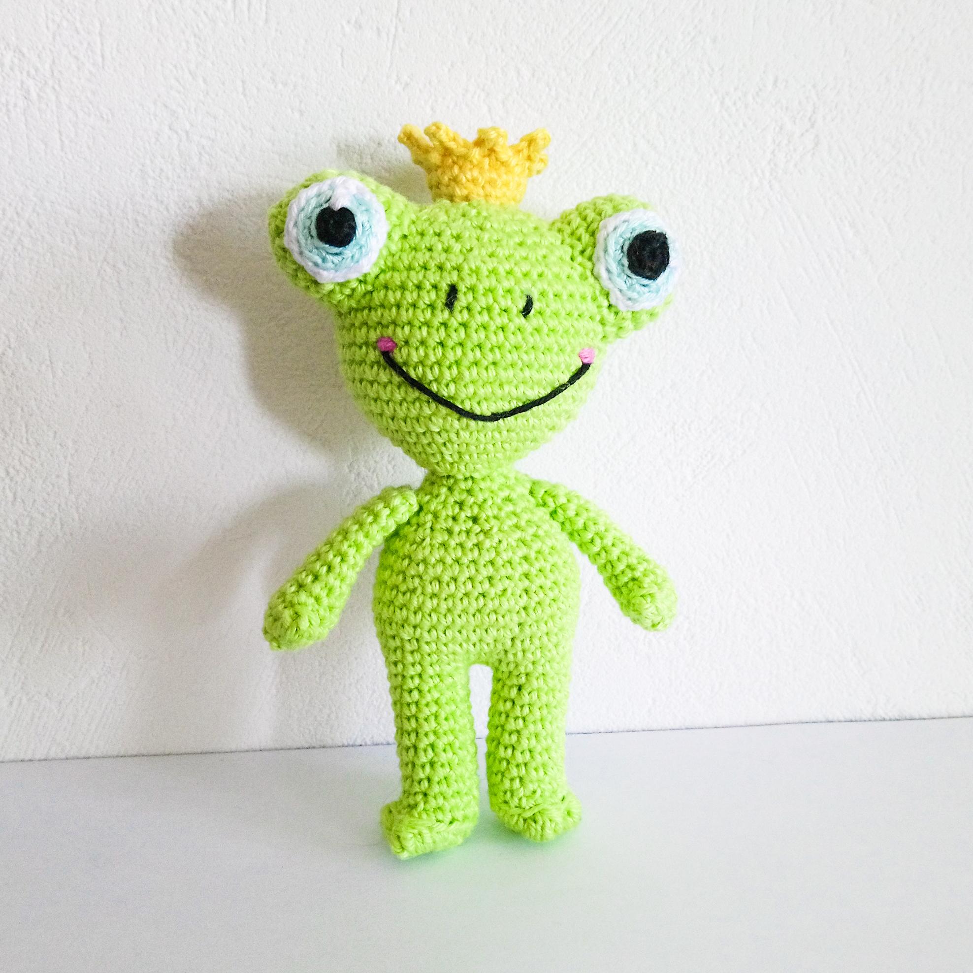Todd The Frog - Amigurumi Crochet Pattern