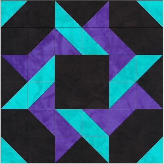 HC Saw 15 Inch Block Template Quilting Pattern at Makerist - Image 1