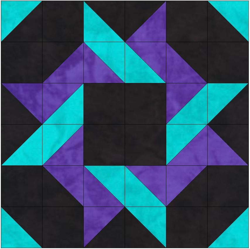 HC Saw 15 Inch Block Template Quilting Pattern