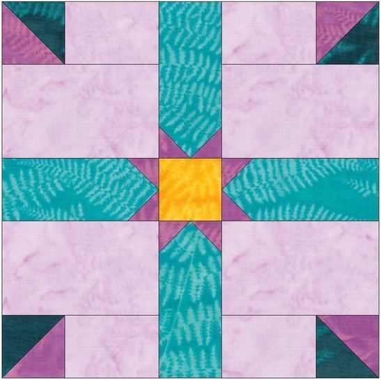 HC Rising Star 15 Inch Block Template Quilting Pattern at Makerist - Image 1