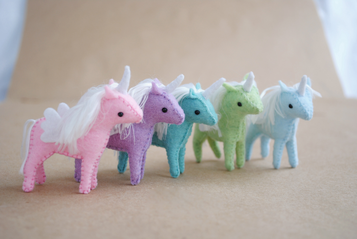 Baby Unicorns Sewing Pattern