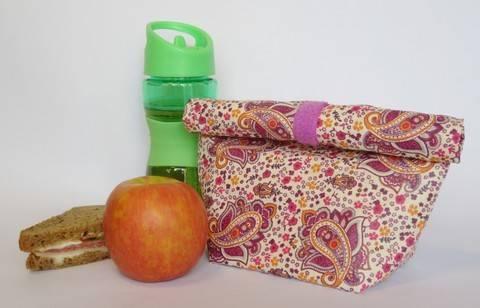 Lunchbag / Brotbeutel - Nähanleitung