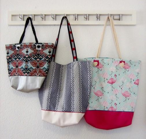 Shopper/Strandtasche - Nähanleitung