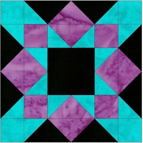 HC Crossing 15 Inch Block Quilting Template Pattern at Makerist