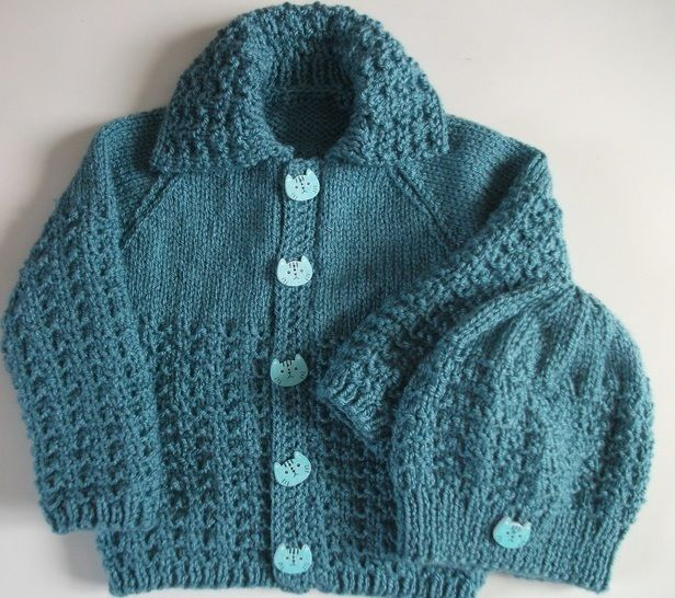 Bobby Jacket and Hat Knitting pattern at Makerist - Image 1