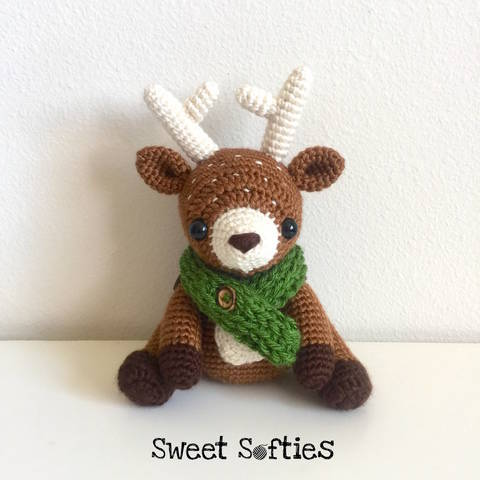 Dawson the Deer, Woodland Stuffed Animal Waldorf Doll