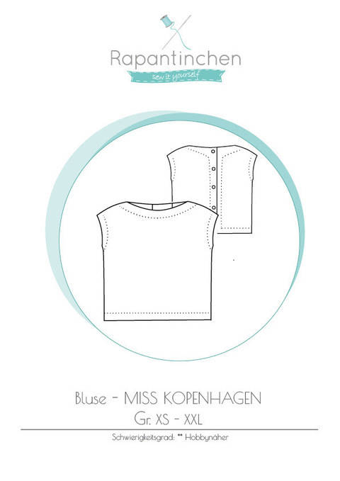 Ebook Bluse MISS KOPENHAGEN bei Makerist
