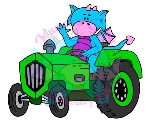 Plotterdatei Traktor-Lilo