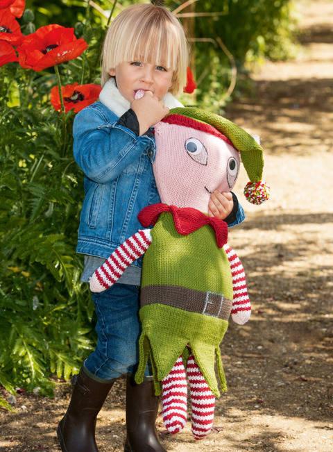 Kinder-Kuscheltier, Puppe, Dekofigur Jonas bei Makerist