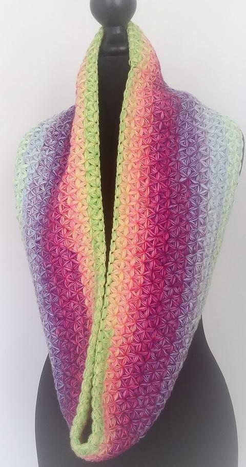 "Crochet Pattern Loop ""Stars"" at Makerist"