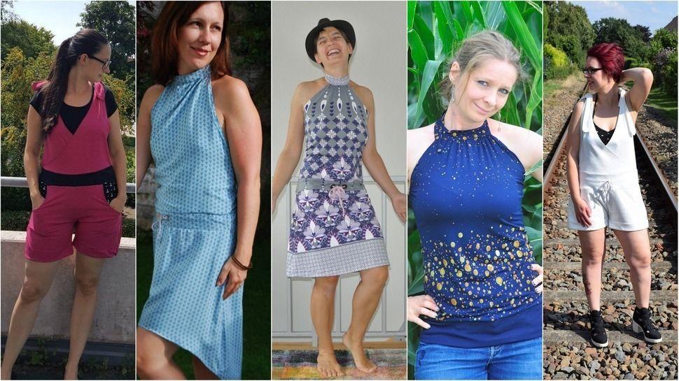 b.e.Knit Ladyz *Kleid*Jumpsuit*XS bis XXL* bei Makerist - Bild 1