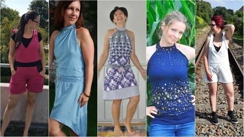 b.e.Knit Ladyz *Kleid*Jumpsuit*XS bis XXL* bei Makerist