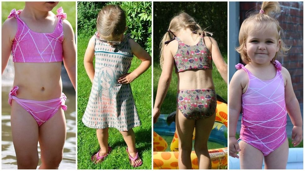 Lia´s Sommerset Vol. II - Gr. 86-164  *Hängerchen*Badeanzug*Bikini* bei Makerist - Bild 1