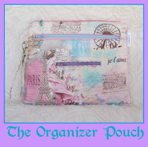 Organizer Pouch~ A Bag with 5 zippered Pockets at Makerist