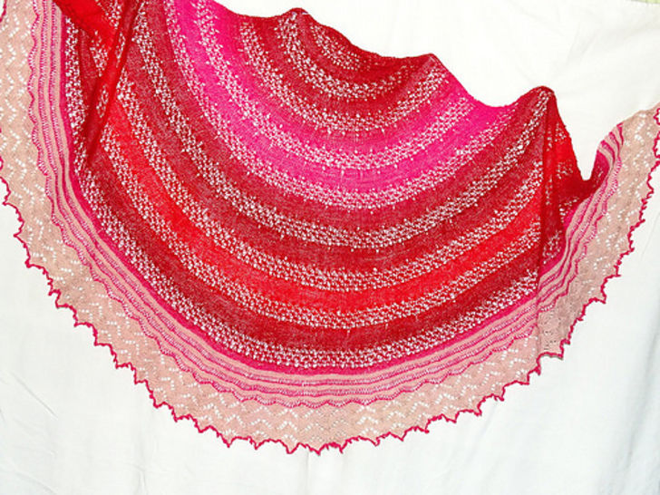 Sundowner Shawl at Makerist - Image 1