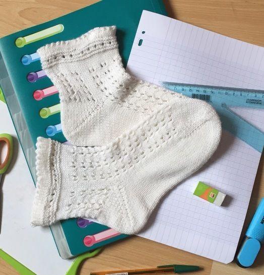 Les Gisèle Socks, les chaussettes de la rentrée  chez Makerist - Image 1