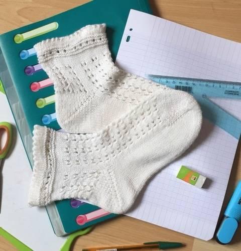 Les Gisèle Socks, les chaussettes de la rentrée  chez Makerist