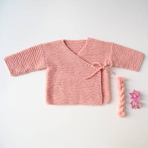 Wrap Cardigan MARIE / Knitting Pattern