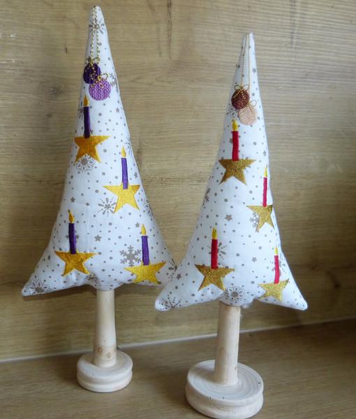 Stickdatei ITH Weihnachtsbaum 16x26
