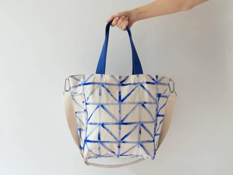 Mittelgroße Tasche mit Reißverschluss