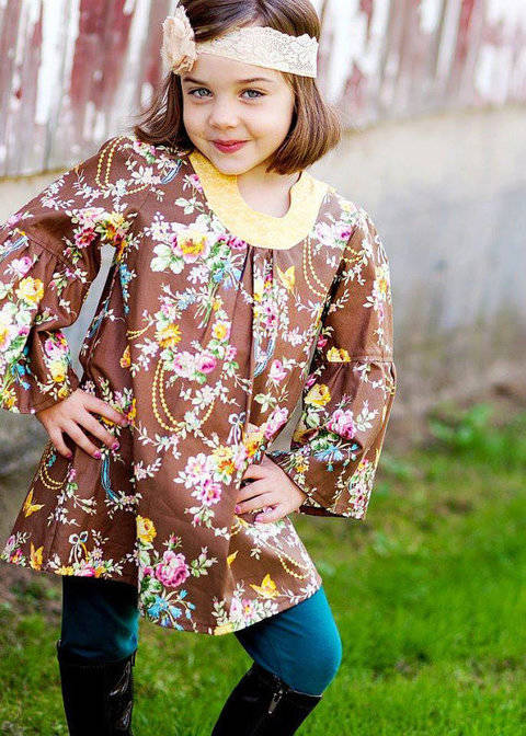 Sis Boom Pattern Co Emily Tunic For Girls