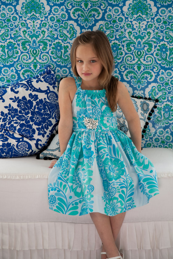 Sis Boom Pattern Co Marissa Dress for Girls