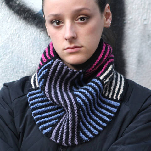 Cowl NELLY / Knitting Pattern
