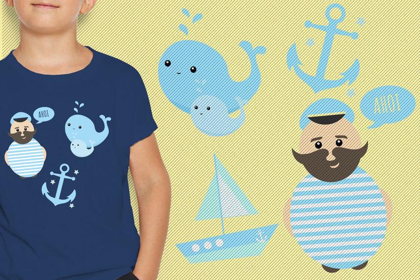 Makerist Plotterdatei: Auf zur See! bei Makerist - Bild 1