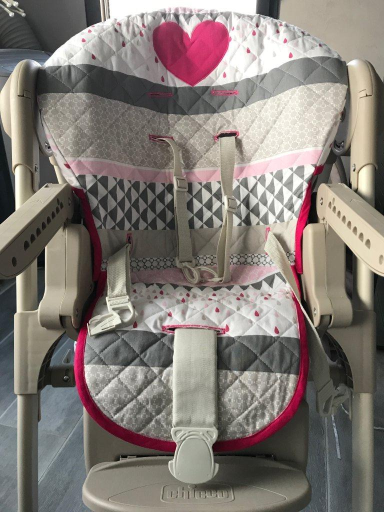 Tutoriel Housse de Chaise Haute Polly Magic de Chicco