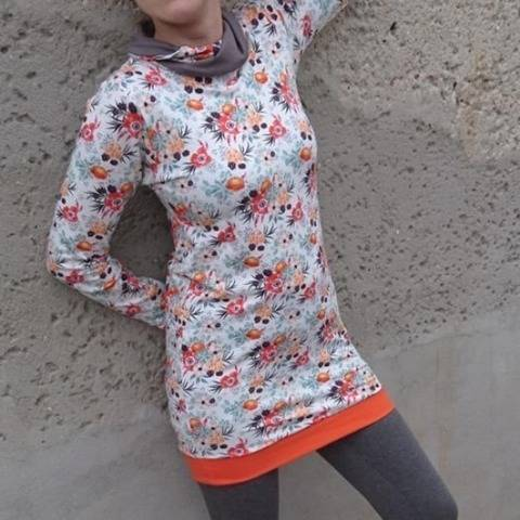 emi Hoods - Damenhoodie inkl. Babybauchversion