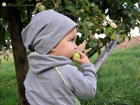 Baby-Beanie für KU 34 bis 53, Nähanleitung und Schnittmuster bei Makerist