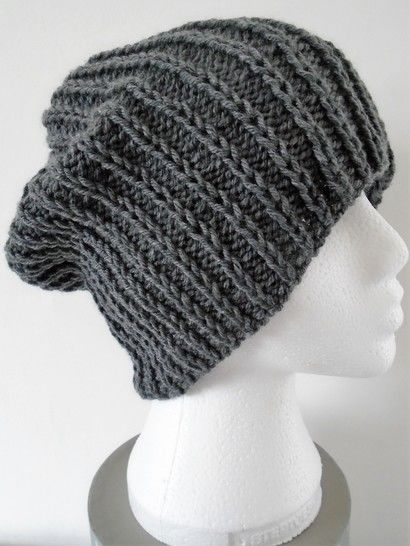 Beanie Hat Knitting Pattern. Unisex.  at Makerist - Image 1