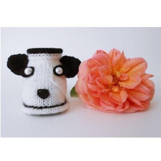 Chaussons Panda - Tutoriel tricot chez Makerist - Image 1