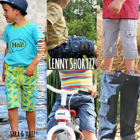 CARGOHOSE & SHORTS LENNY bei Makerist