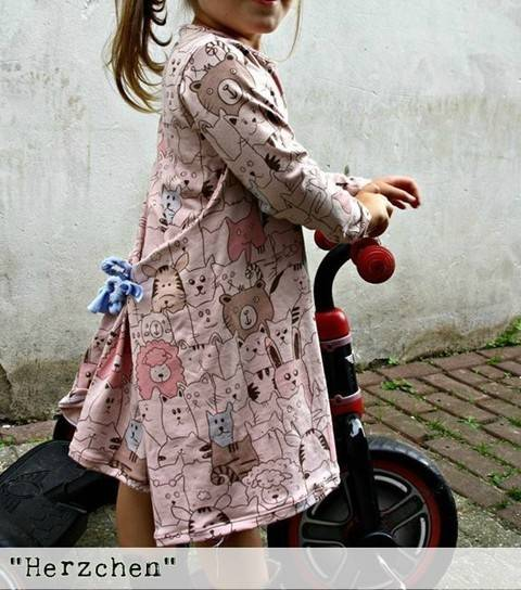 Herzchen Ebook, Shirt/ Kleid Gr.62/68-134/140 bei Makerist