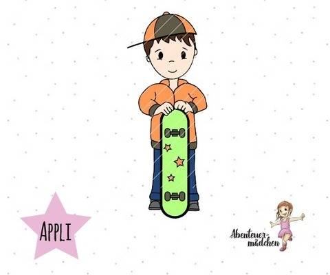 Skater Timmi - Applikation