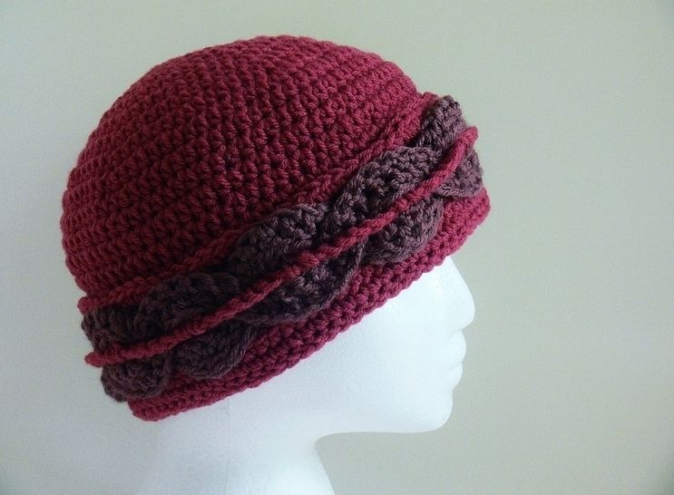 Woven Band Winter Hat # 128 at Makerist - Image 1