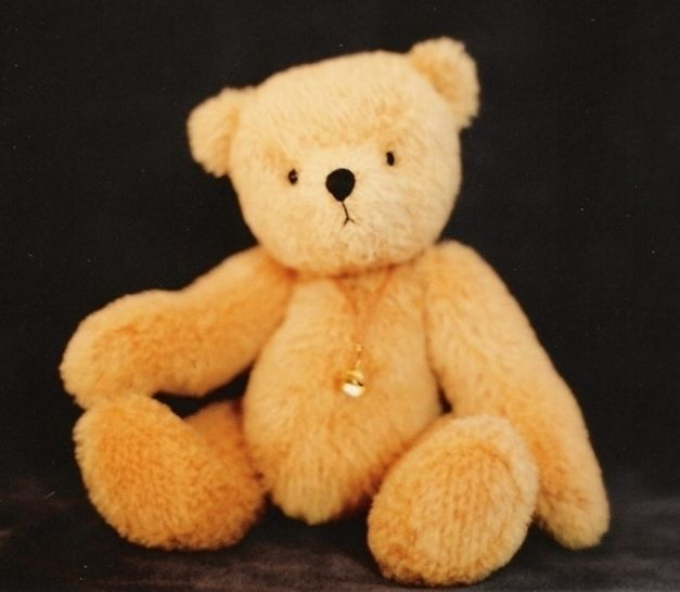 "Teddy Bear pattern and Illustrated Instructions for Ted E., an 8"" jointed Bear at Makerist - Image 1"
