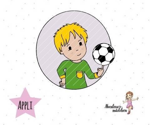 Fussballheld Junge - Applikation