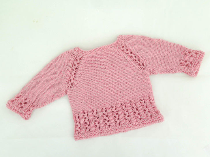 Sweet Lizzie Top Down Pullover at Makerist - Image 1