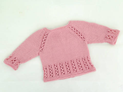Sweet Lizzie Top Down Pullover at Makerist