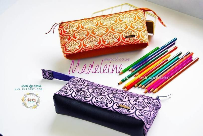 Pouches with flat bottom: make-up bag & pencil case at Makerist - Image 1