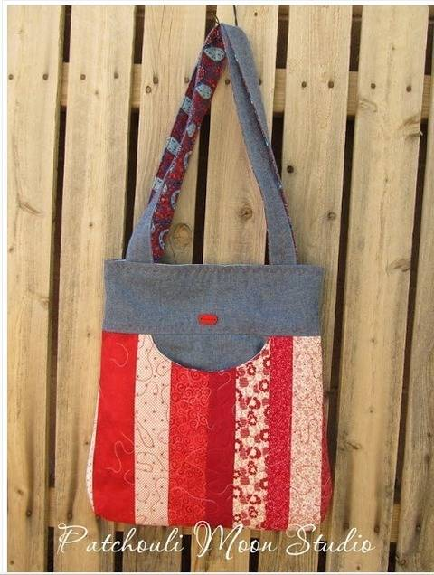 Simple, easy and adorable bag pattern suitable for all, beginners too. Detailed instructions with lots of pics.