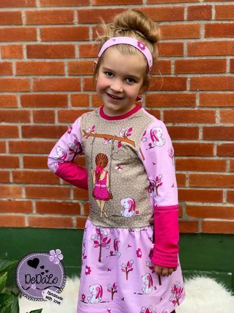 "eBook Basic Line for Kids by Lennähna Kleid ""Girls Dress"" Größen 86 - 170 bei Makerist"