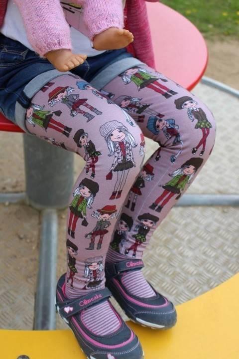 "eBook Basic Line for Kids by Lennähna ""Leggings"" Größen 86 - 170 bei Makerist"