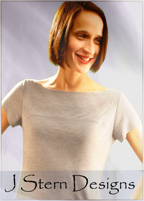 The Misses' Tee - detailed sewing and pattern