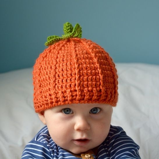 The Pumpkin Hat Crochet Pattern at Makerist - Image 1