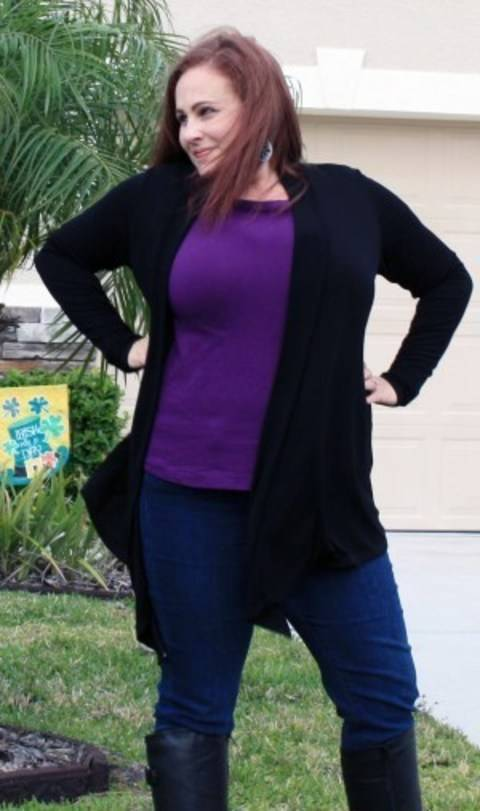 The Tee Twin Set - Tee and Cardi Sewing Pattern with Instructions