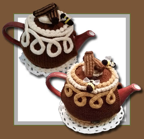 Chocolate Cake Tea Cozy (en)